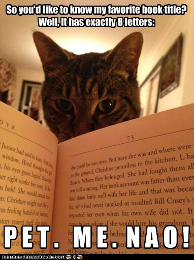 FAVORITE BOOK - A Cat's Purrspective...