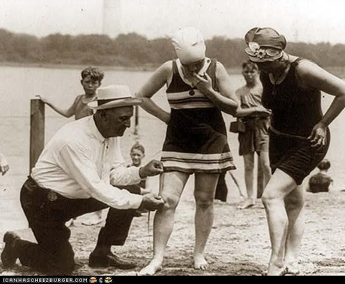 Bathing Suit Inspector 1922
