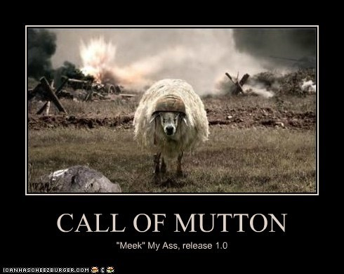 CALL OF MUTTON