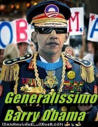 Generalissimo Barry Obama