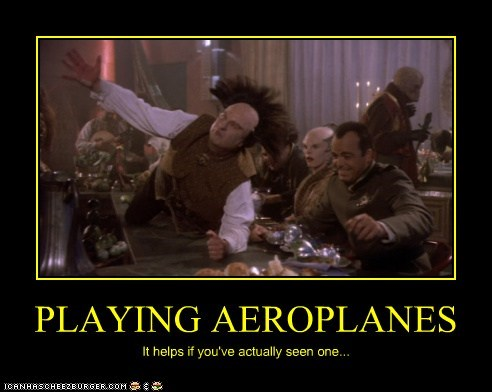 PLAYING AEROPLANES
