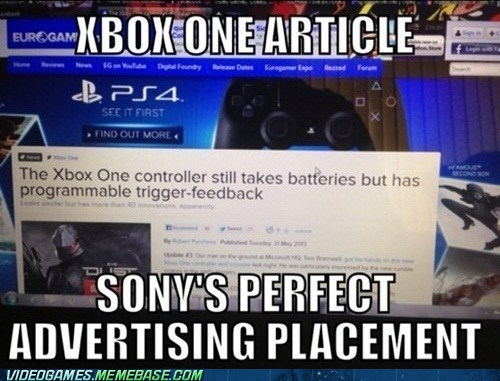 Advertising Trolling By Sony
