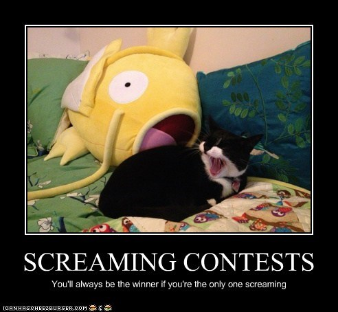 SCREAMING CONTESTS