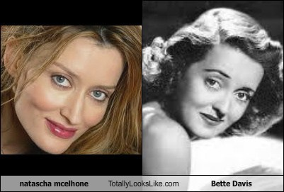 Natascha McElhone Totally Looks Like Bette Davis