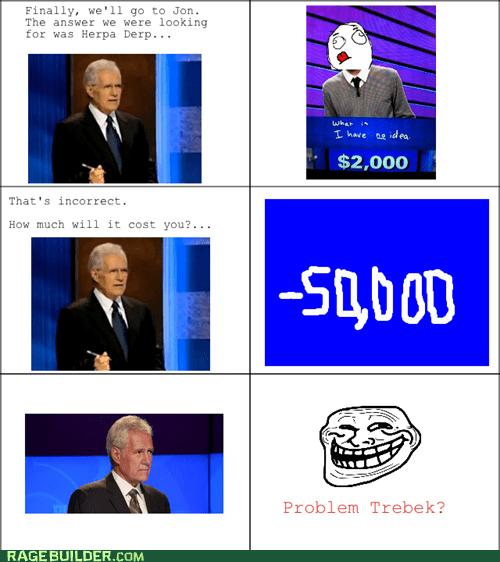 Jeopardy,Alex Trebek,u mad bro,funny