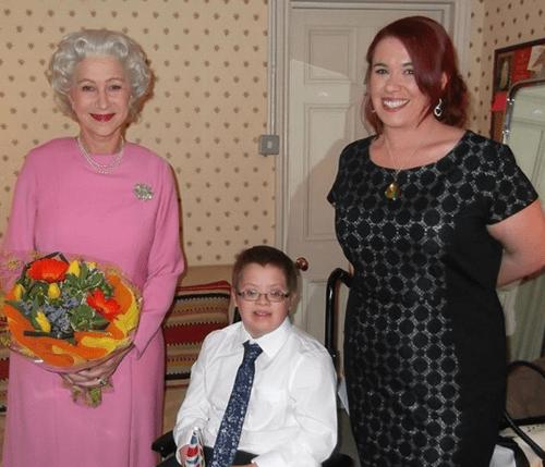 Helen Mirren, as the Queen, Fulfills a Boy's Dying Wish