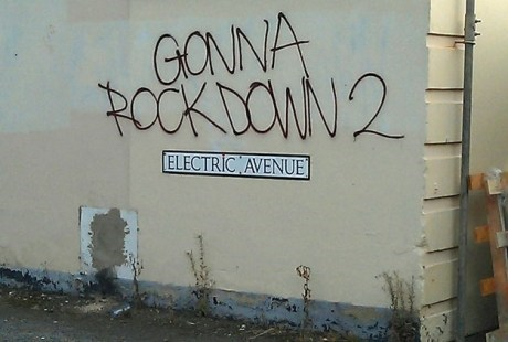 Music,graffiti,eddy grant,electric avenue,funny