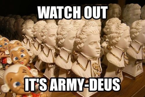Rock Me Army-deus