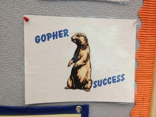 motivation,puns,gopher,funny
