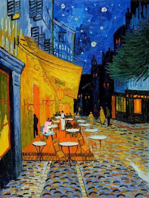 At the night cafe