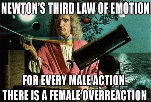 Newton,emotions,funny
