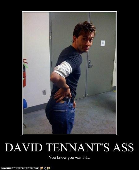 David Tennant,doctor who,dat ass