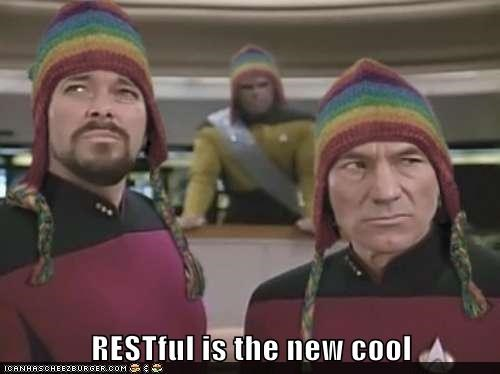 RESTful is the new cool
