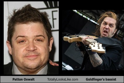Patton Oswalt Totally Looks Like Goldfinger's Bassist