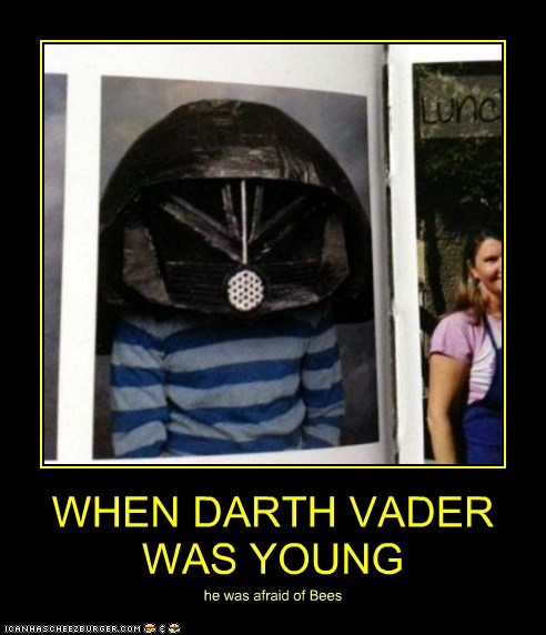 WHEN DARTH VADER WAS YOUNG