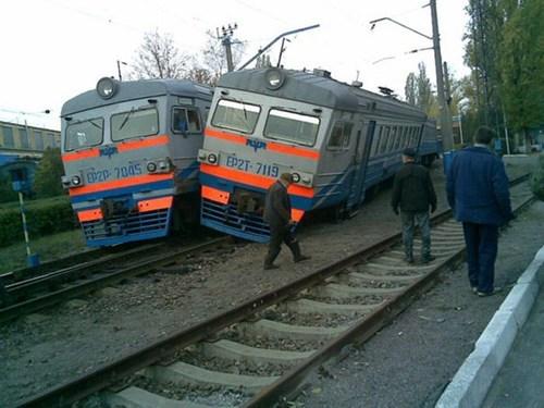train tracks,move over,train,funny