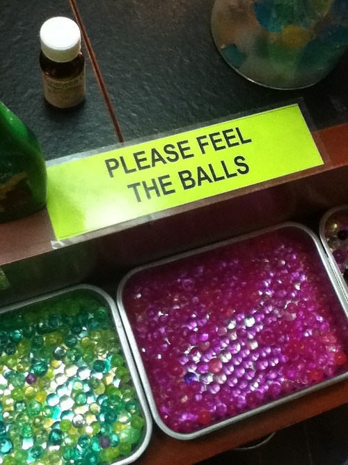 You Want Me to Feel the Balls?