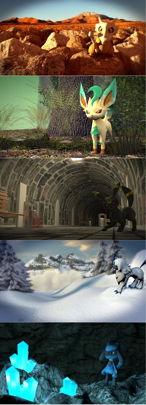 Pokémon,IRL,dawww