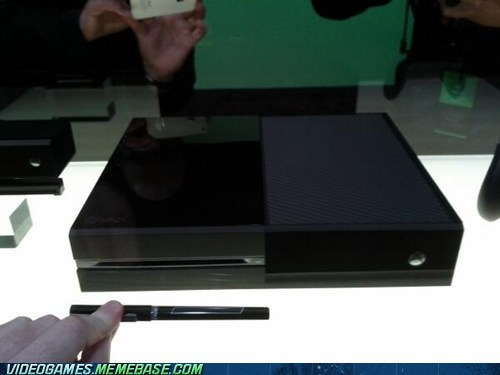 Xbox One scaled to a pen.