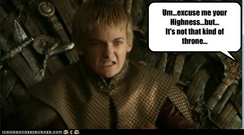 Game of Thrones,pooptimes,joffrey baratheon
