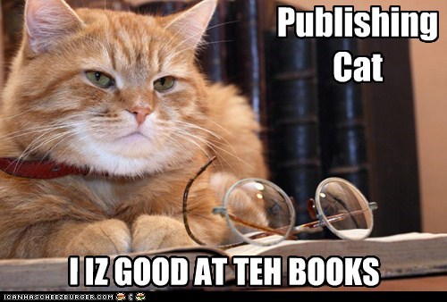 Publishing Cat