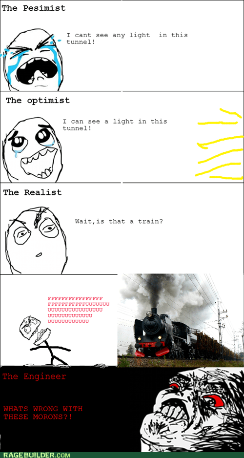 realism,optimism,trains,funny,pessimism