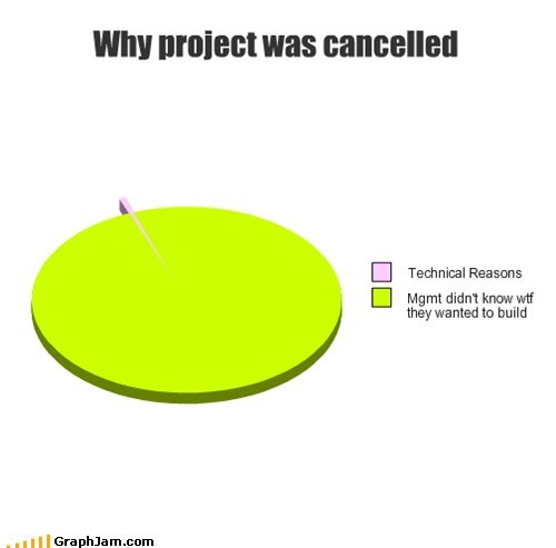 Why project was cancelled