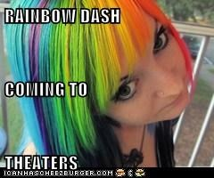 RAINBOW DASH COMING TO THEATERS