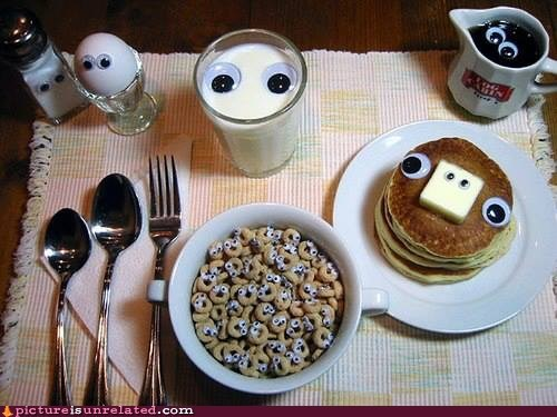 googly eyes,food,funny