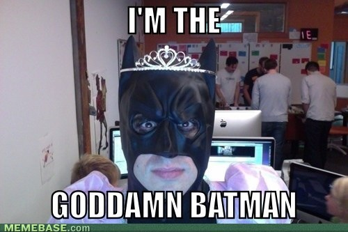 Who Says Batman Can't Be a Princess?