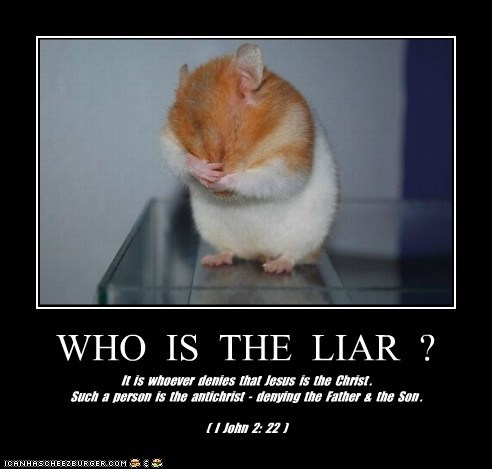 WHO  IS  THE  LIAR  ?