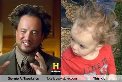 Giorgio A. Tsoukalos Totally Looks Like This Kid