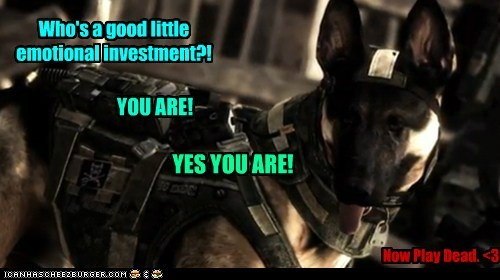 Who's a good little emotional investment?!