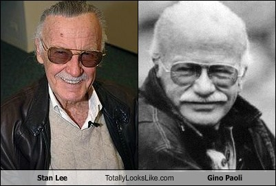 Stan Lee Totally Looks Like Gino Paoli
