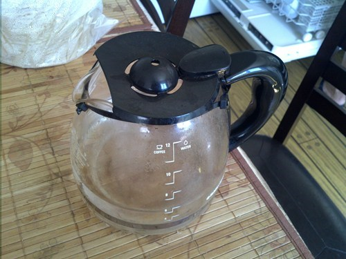 zip ties,coffee pot,funny,there I fixed it