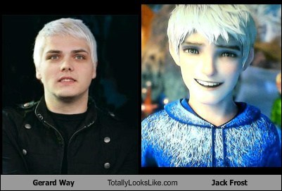 Gerard Way Totally Looks Like Jack Frost