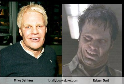 Mike Jeffries Totally Looks Like Edgar Suit