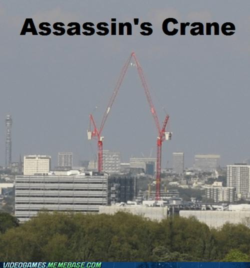 Assassin's Crane