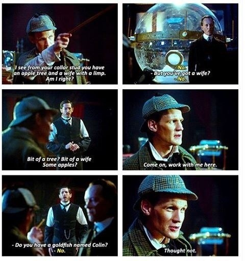 The Doctor Doesn't Make a Very Good Sherlock