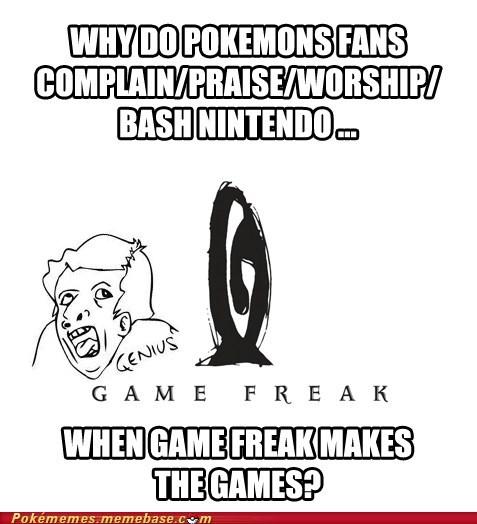 ur a genuis,Game Freak,fans,funny,nintendo