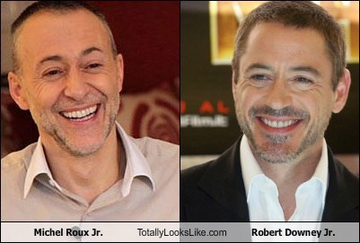 Michel Roux Jr. Totally Looks Like Robert Downey Jr.