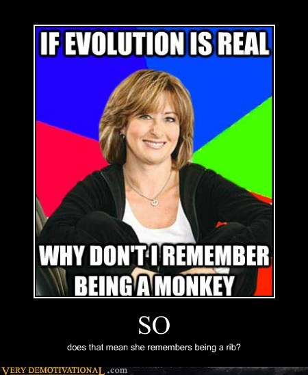 evolution,creationists,funny
