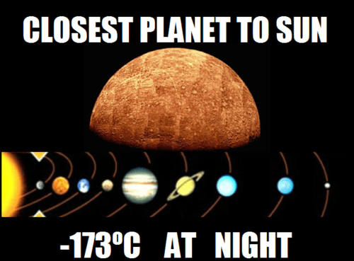 planets,mercury,The Sun,funny