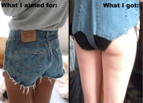 cut offs,funny,poorly dressed