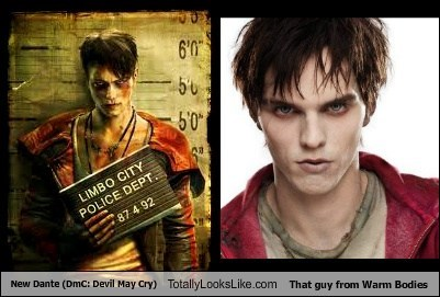 New Dante Totally Looks Like That Guy From Warm Bodies