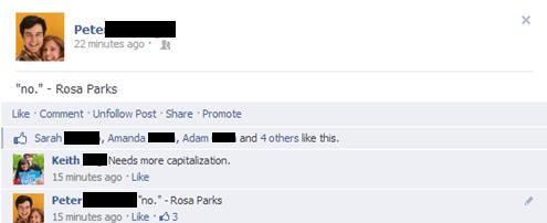 recursion,quotes,rosa parks,funny