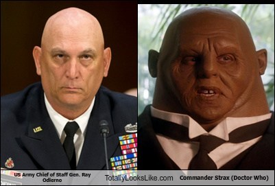 US Army Chief of Staff Gen. Ray Odierno Totally Looks Like Commander Strax