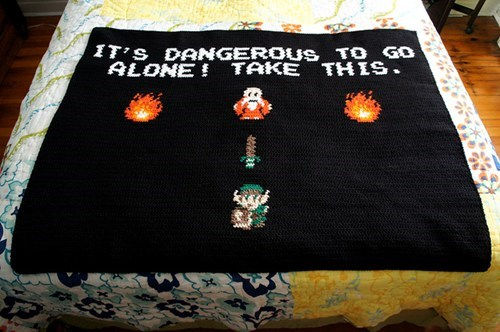 The Perfect Blanket for Lazy Video Game Days