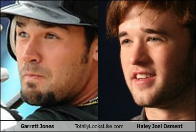 Garrett Jones Totally Looks Like Haley Joel Osment