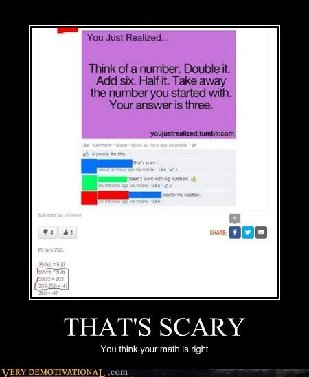 scary,idiots,math,funny
